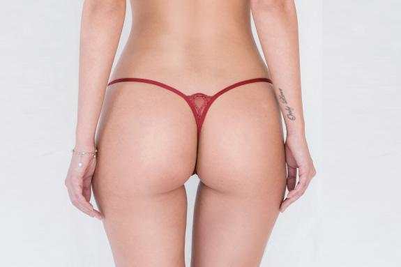 Damen String Little Red - Lucky Cheeks G-String