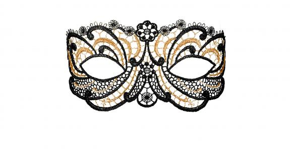 Golden Diamond Maske