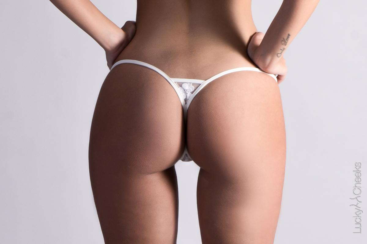 Ivory Pearl Micro thong